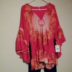 Free People brand new with tags. Boho style tunic.